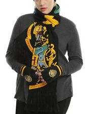 Harry Potter Hogwarts Varsity Crests Knit Neck Scarf New With Tags!