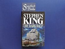 | @Oz |  THE DARK HALF By Stephen King (1989), Large Hardcover