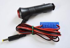 Yaesu FT817 FT817ND power lead + switched/fused 12V plug and marker (LD115)