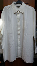 Peter England Mens King Size Plain Shirt Collar UK 19.5