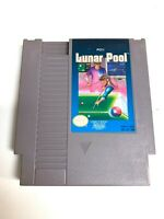 Lunar Pool ORIGINAL Nintendo NES Game Tested WORKING and AUTHENTIC!