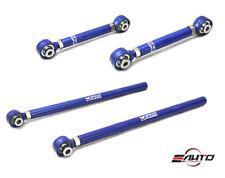 MEGAN 4pc Pillow Ball Rear Toe + Trailing Control Arm for RX7 RX-7 93-95 FD3S