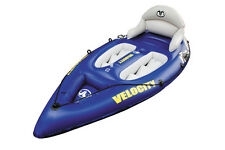 AQUA MARINA VELOCITY INFLATABLE SEAT-ON-TOP KAYAK WITH PADDLE & PUMP