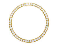 Solid Yellow Gold Beadset Diamond Bezel for Rolex 36MM Day-Date Datejust 1.75Ct
