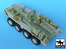 M1126 Stryker ICV interior for AFV Club 35126, T35001, BLACK DOG, 1:35