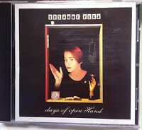 Suzanne Vega - Days of Open Hand (CD, 1990, A&M)