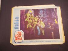 *              the LOST WORLD-ARTHUR CONAN DOYLE -no. 6 - -1960-MOVIE LOBBY CARD