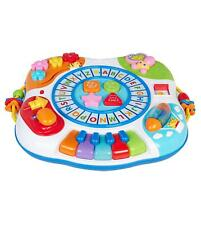 Multi Colour 8-In-1 Activity Centre Table Kids Game Fun Play Children 1 Year +