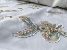 Embroidered Taffeta (per metre) 'Amaryllis B', dress fabric, womenswear
