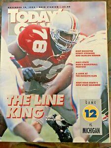 1994 Ohio State vs. Michigan original college football program