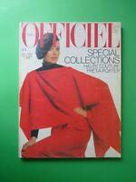 L'Officiel Paris Septembre 1977 September Collections Haute Couture Pret Porter