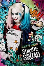 Suicide Squad Movie Poster (24x36) - Harley Quinn, Margot Robbie, Jared Leto v18