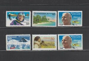 US,C127-C131,C132,MNH,VF AIRMAIL COLLECTION MINT NH,OG