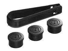 Genuine Smart Fortwo Forfour (453) BRABUS Wheel Bolt Covers Set A4539980321 New