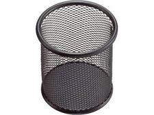 Stiftehalter Schreibköcher Butler Stiftebox Metalldraht Köcher schwarz silber