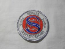 2014 Sochi - Norway Skating Federation embroidered patch