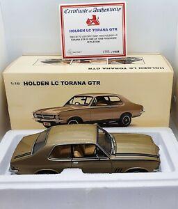 AUTOart 1:18 Holden LC Torana GTR Platinum In Box With Certificate.