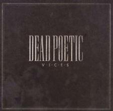 CD Dead Poetic vices cristiano-METAL NUOVO & OVP Tooth & Nail Records
