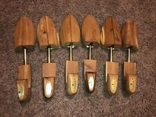 Set of 3 pairs of Nordstrom Wooden Shoe Form Shapers Stretchers USA