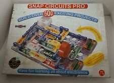 Elenco Snap Circuits Pro SC-500 Electronics Projects Kit Complete Ages 8-108