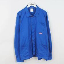 Vintage French Worker Chore Utility Jacket Blue Size Large L EU 54 Retro