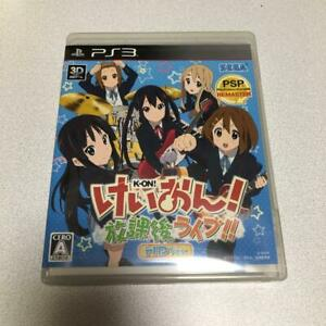 PS3 K-On! Houkago Live!! HD Version 35804 Japanese ver from Japan