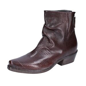 Women's shoes MOMA 7 (EU 37) ankle boots brown leather BJ665-37