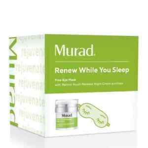 Murad Resurgence Retinol Youth Renewal Night Cream 50 ml 1.7 oz + eye mask