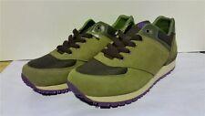Buffalo Damen Sneakers Wildleder+Textil grün/braun 37 Neu SHOE 19_00 H-9228