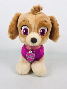 Build a Bear Nickelodeon Paw Patrol Skye 12 Inches Plush Cocker Spaniel Dog