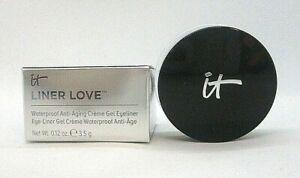 It Cosmetics Liner Love Waterproof Eye Liner Gel ~ Black ~ 0.12 oz BNIB
