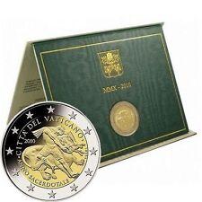 Pièces euro du Vatican pour 2 euro Année 2010