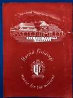 Harold Fielding's Music For The Millions Llandudno June 1953 Booth and Ziegler