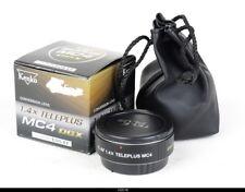 Kenko Teleplus DGX 1.4X MC4 Converter for Canon Eos EF Mint Box