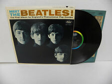 THE BEATLES-MEET THE-2nd Pressing-VINYL 7.0 COVER 5.0