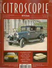 CITROSCOPIE 4 CITROEN C6 TOWN CAR 1930 CIT TYPE C AUSTRALIE AMI 6 CX FLA BERTONI