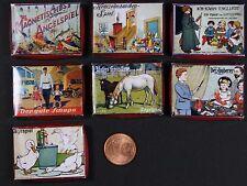 Brettspiele Miniatur Spielzeug Puppenstube Puppenhaus Setzkasten 1:12 Diorama