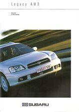 Prospekt / Brochure Subaru Legacy 08/2001