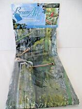 New listing Breeze Art Garden Flag Cardinal View Bird New Solar Silk 28X40