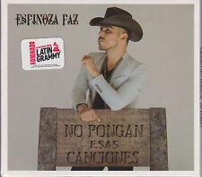 Espinoza Paz CD NEW No Pongan Esas Canciones **BRAND NEW
