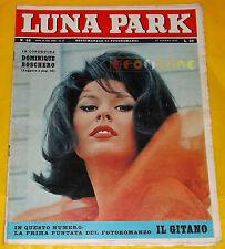 LUNA PARK 1963 n. 26 Dominique Boschero, Monica Vitti