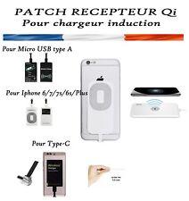 Patch Recepteur Qi pour chargeur Induction sans fil pr tout Smartphone iphone