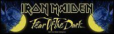 Iron Maiden Stripe   Aufnäher Fear Of The Dark SS181 Iron Maiden Patch Gewebt !!