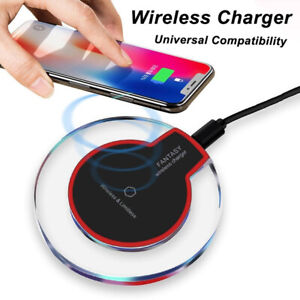 QI Wireless Charger Fast Charging Pad For Apple iPhone 11 Pro X XR XS Max 12
