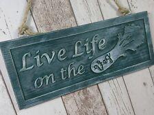 Live Life on the Veg Wooden Sign, Vegan/Vegetarian Gift, Kitchen Decor