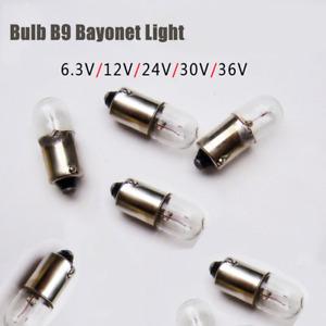 5Pcs Bulb B9 6.3-36V Indicator Small Lamp Beads 1.5W-3W Signal Light Bead B9 Bay
