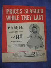 """August 12,1946-BUTLER-BROTHERS-""""Clearance!/Close Outs""""Catalog-Chicago, Illinois"""