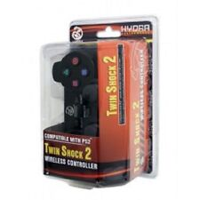 PS2 Wireless Hydra Controller for Sony Playstation 2 System Black