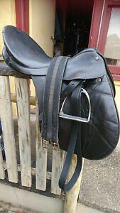 Bates Black All purpose Saddle