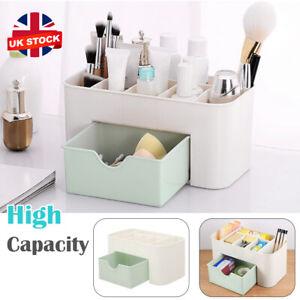 Womens Desk Make Up Brush Holder Organizer Box Drawer Storage Jewellery Case